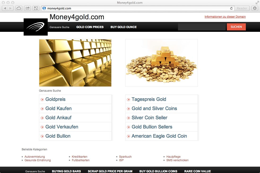 Bild Money4Gold