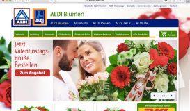 Aldi Blumen